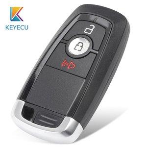 KEYECU 3 Botão 315MHz inteligente remoto Key Fob para a fusão F250 F350 F450 F550 Explorador FCC: M3N-A2C93142300 164-R8163