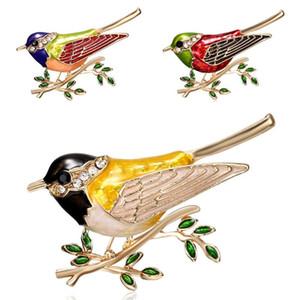 New Flying Swallow broche For Women animal Broche Pássaro jóias de liga de pássaros Broches para ternos vestido Banquet Broche