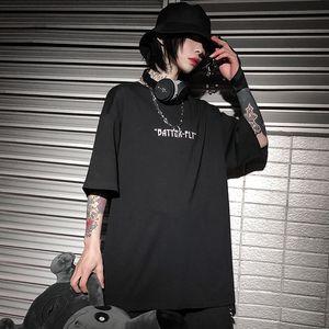 Septhydrogen Brand Hip Hop Oversize T Shirt Men 2020 Streetwear Harajuku Color Butterfly Tshirt Short Sleeve Cotton Loose HipHop T-Shirt Plu