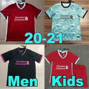 20 21 futbol forması Liverpool SALAH MANE FIRMINO M.SALAH Real Madrid 2020 2021 soccer jersey football shirts Uzun kollu VIRGIL Kaleci Goalkeeper BECKER çocuklar kadınlar üst