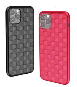 Para iPhone 11 Pro Max de lujo de la cubierta caja del teléfono móvil de silicona TPU suave del teléfono 3D envío