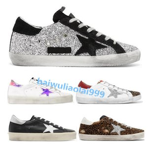 2020 HOT NEW Italy Multicolor Heel Golden Superstar Gooses Sneakers Men Women Classic White Do-old Dirty Shoes Casual Shoes Size 35-45