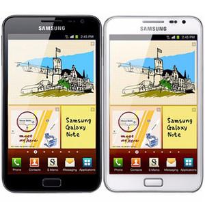 Восстановленное Оригинал Samsung Galaxy Note N7000 5,3-дюймовый Dual Core 1GB RAM 16RM ROM 8MP 3G разблокирована Android мобильный сотовый телефон бесплатно DHL 5шт