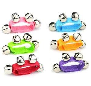 Детские наручные Bell Ударные инструменты раннего обучения танца игрушки Слух партия игрушек для взрослых Активная Атмосфера игрушек партия подарков WY102