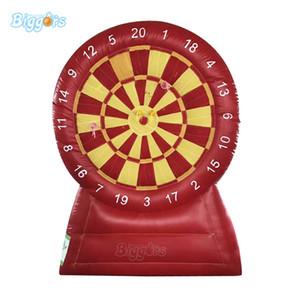 Индивидуальный красный водонепроницаемый Punctureproof огнеупорного Feature Надувного футбол Target Дартс Спорт Игра для съемки игры