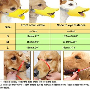 Adjustable Pet Dog Masks Anti Bite No Barking Pets Muzzle Duckbill Mouth for Small Medium Large Dog Products New