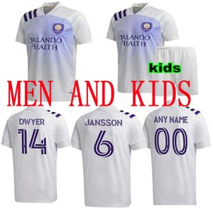 navio rápido 2020 de futebol 2021 Orlando City SC jerseys NANI MUELLER COLMAN J.MENDEZ MLS 20 21 homens de Futebol e crianças camisas