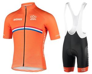 2019 Men Summer triathlon Netherlands Dutch National Team Cycling Jersey mountain choice clothes maillot ciclismo roba Size XXS-6XL L14