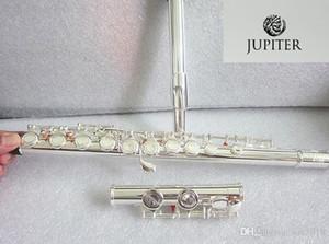 Argento flauto JUPITER JFL-511ES 16 fori Closed C chiave Flauto Cupronickel argentatura flauta trasversale instrumentos musicale flauto e Box disco rigido