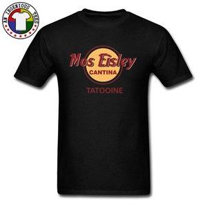Maglietta Mos Eisley Cantina Tatooine Magliette Estate / Autunno Abiti 100% cotone Girocollo Uomo