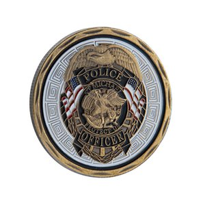 U.S. Marine Corps Commemorative Coin Angel   Devil Dog Gold Coin Commemorative Collection Coin Military Metal Badge