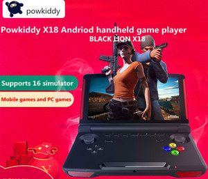 Powkiddy X18 Andriod Handheld Game Console 5.5 INCH 1280*720 Screen MTK8163 quad core 2G RAM 16G ROM Video Handheld Game Player 5pcs DHL