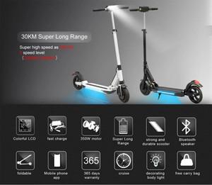 2019 핫 전기 스쿠터 A150 Pro Smart E 스쿠터 스케이트 보드 Mini Foldable Hoverboard Longboard 성인 30km 배터리