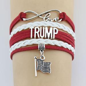 Pulseras unicornios Infinity TRIUNFO jesús encanto pulseras de cuero trenzado de envoltura de brazaletes para cny2124 hombres de las mujeres de la joyería