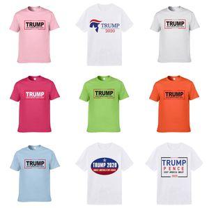 2020 Neue Sommermens Trump T Shirts Mode-Männer Designer Trump T Shirts Kurzarm Printed Diamant-Versorgungs Casual Male Tops Tees Trump T-Sh