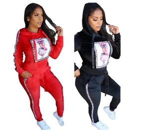 Womens designer tracksuits Sports Suit Daily Tops and Pants Lady Autumn Winter Women Clothes 2 Pieces Outfits Sport Sweatsuit