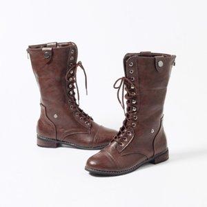 Katı Avrupa Stili kadar Yeni Kadın Boot Platformu Boots Dantel Aşınma dirençli Nefes Moda Sneakers Kar Boots Cortex