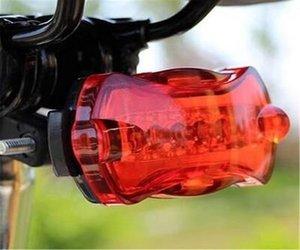Bicicleta Luz borboleta passeio 5 LED Taillight Segurança Rear Flash Light vermelho com Luz Traseira de 2020