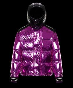 parkas Diseñador abajo de la chaqueta de invierno para hombre de la marca de las mujeres esquimales con los modelos de calidad superior de lujo para hombre chaquetas de la capa tapas de las mujeres del tamaño XS-XL opcionales
