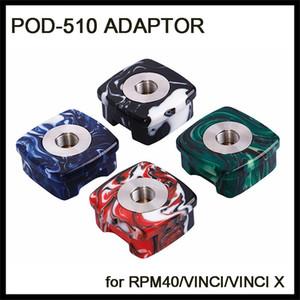 Pod adaptateur 510 fil résine Connecteur pour RPM40 RPM 40W Voopoo Vinci X Mod Kit Pod-510 adaptateur de batterie sous Ohm Tanks