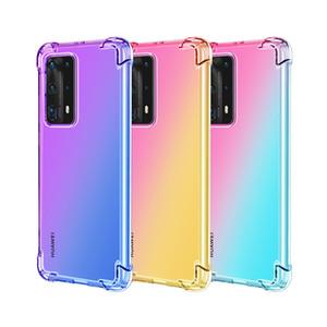 Antichocs cas pour Huawei P smart 2020 P40 Lote P30 P20 Maté 20 Pro Nova 4E 20X Y7 PRO 2019