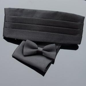 Premium Kids Tuxedo Satin Children Cummerbund Bowtie Hanky Set Wedding Formal Prom Dinner Party Pattern Gravata Boy Necktie Belts Belts & Ac