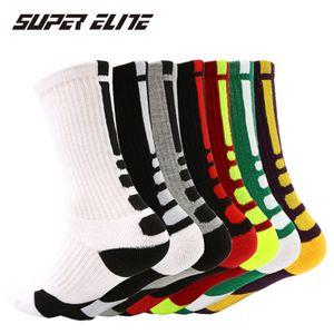 SUPER ELITE Herren Crossfit Sport Socke Radsport Basketball Long Tube Champion Workout Socke Neue Herren Damen Gepolsterte Good Run Running