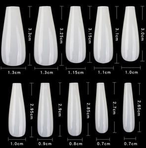 Hot Vendre faux ongles transparent Fold manucure française libre Extension Une 3.3-2.65cm confortable Désagréable Europe et Amérique du style