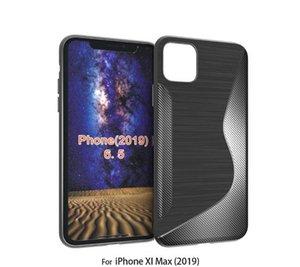 1.3MM TPU NS حالة سيليكون لينة لفون 2019 XI MAX 6.5inch / XI 5.8inch Huawei Y9 Prime 2019 ون بلس 7/1 + 7 غطاء الهاتف من ألياف الكربون