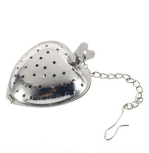 Edelstahl Silber Herz Tee Gewürzsieb Ball Infuser Filter Herb Steeper High Quality Tea Infuser