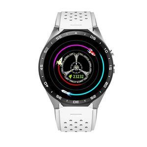 "KW88 GPS intelligent Montre de fréquence cardiaque Waterproof WIFI 3G LTE Android Wristwatch MTK6580 1,39"" Wearable Devices Bracelet pour Android iPhone Montre"