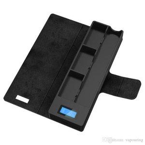 Красочные Power Bank Box Портативный USB 200 мАч ЖК-Дисплей Зарядное Устройство Для VapeJuul V2 V3 CocoBattery Vapor Pods Картридж Высокое Качество