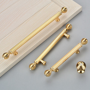 Le maniglie di cristallo di lusso dell'armadio da cucina tirano le maniglie di tirata delle manopole dell'armadio del guardaroba dell'armadio del cassetto Trasporto libero