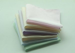 20шт сплошной цвет носовые платки 100 %хлопок носовые платки женщины мужчины 28см *28см карманный квадратный свадебный простой Diy печати рисовать носовые платки