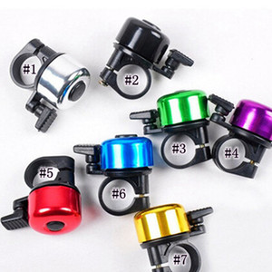 New Safety Metal Ring Handlebar Bell Loud Sound for Bike Cycling bicycle bell colorful horn ZZA826-1