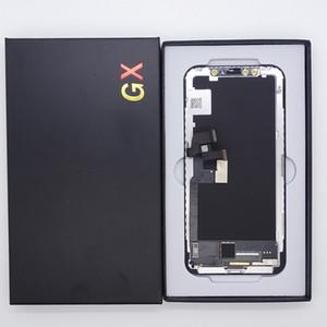 Flexibles OLED-Display für iPhone x GX-Bildschirmfenster Digitizer-Montageersatz