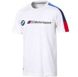 Yeni erkek ve kadın motosiklet motosiklet tişört BMW kısa kollu yarış çabuk kuruyan tişört