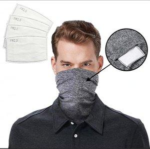 Головка фильтра шарф шея крышка с Safety Magic шарфов Face Многофункционального оголовье Бандан шарфа на открытом воздухе езды на велосипеде езды маска LJJA4072