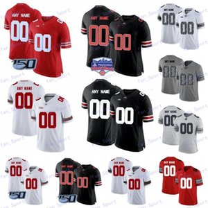 Ohio State Buckeyes personnalisé Football Jersey Fiesta Bowl College OSU Les champs Jeune Dobbins Olave Teague III Colline Mack George Wilson jeunes femmes