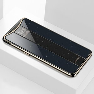 Electroplated Mirror Glass Case for OPPO Find X