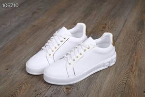 2019 новое прибытие мода мужские женщины твердые шнуровка повседневная обувь роскошный дизайн высокое качество натуральная кожа бесплатная доставка размер: мужчина / женщина 35~45