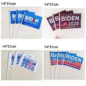 Cumhurbaşkanlığı Dalgalanan Bayrak Biden Seçim Dalgalanan Bayrak ZZA2164 3000pcs için 2020 ABD Başkanlık Seçim Bayrağı Joe Biden