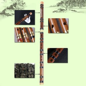 Bamboo Flute Woodwind Musical Instrument Beginner Student Practice Training Traditional Handmade Professional Bamboo Flutes
