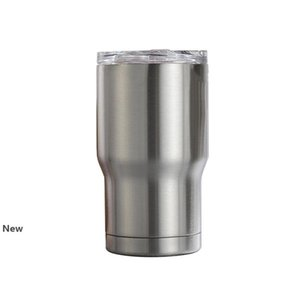stainless steel 14oz tumblers double wall insulation vacuum water coffee mugs home outdoor car cups with lids child baby Cup FFA3797-6