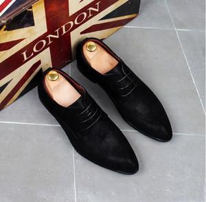Moda Tasarımcısı loafer'lar Erkekler Klasik Hakiki Deri Erkek Ayakkabı Kesim Düz Oxford Dantel Yukarı Düğün Ayakkabı