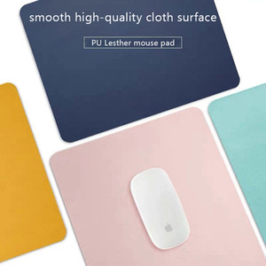 Cheap Pads BUBM Dual-Sided Mouse Pad Waterproof PU Leather Mousepads Office Gaming Mouse Pad Mat for for Laptop, Computer & PC