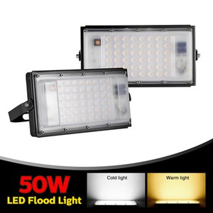 50W Ultra-fino módulo de luz 110V branco fresco Floodlights Warehouse, hotel, Piscina, Oficina Driveway Led Lamp