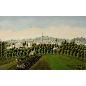 Henri Rousseau paintings View of Bottom and Meudon Billancourt canvas artwork for office wall decor large hand painted