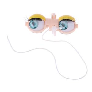 Muñeca de plástico ojo Mecanismo globos oculares de cuatro colores de ojos chips para Blythe muñeca Accesorio # 1