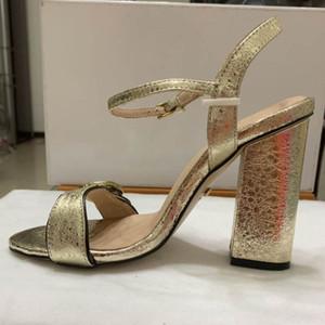 Designer-Frauen-bunte Fersen-Sandelholze hochwertiges T-Bügel hochhackige Pumpen 5 Farben-Damen-Lackleder-Kleid-einzelne Schuhe 35-42